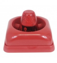Alarm Siren Electronic Fire Bell Featuring with Strobe Led