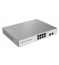 10-Ports 10/100 PoE Switch (8 PoE Port)