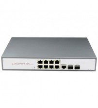 10-Port PoE Switch (1 Gigabit Combo + 1 Gigabit SFP Ports)