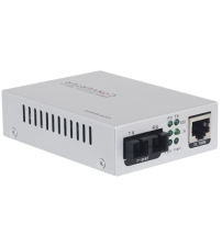 10/100M Single Port PoE Media Converter