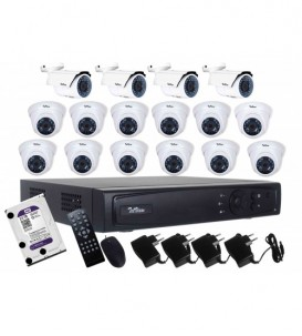 AHD Camera Package 16-Channel